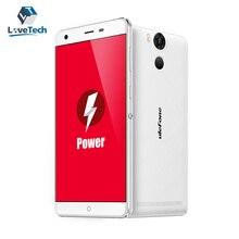 Ulefone Potencia 4G LTE Rápido Cargador 6500 mAh de La Batería de 5.5 Pulgadas MTK6753 3 GB RAM 16 GB ROM SmartPhone 1920*1080 FHD 13.0MP + 5.0MP