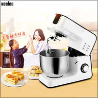 XEOLEO Electric Stand mixer Planetary Food Mixer kneading machine 5.5L Kitchen Food processor8 speed with Stainless Steel Bowl