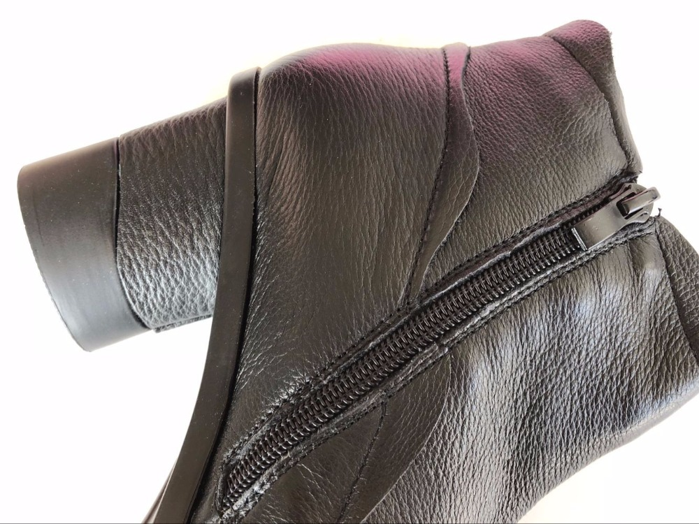 Free shipping,2016 new autumn and winter national style genuine leather female shorts boots, 3 colors comfortable handmade boots