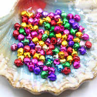 100pcs Bells Charms Decoration DIY For Christmas Party Bracelet Children Gifts FPing