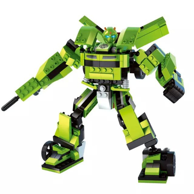 AUSINI Model building kits compatible with lego Robot 2 in 1 ...