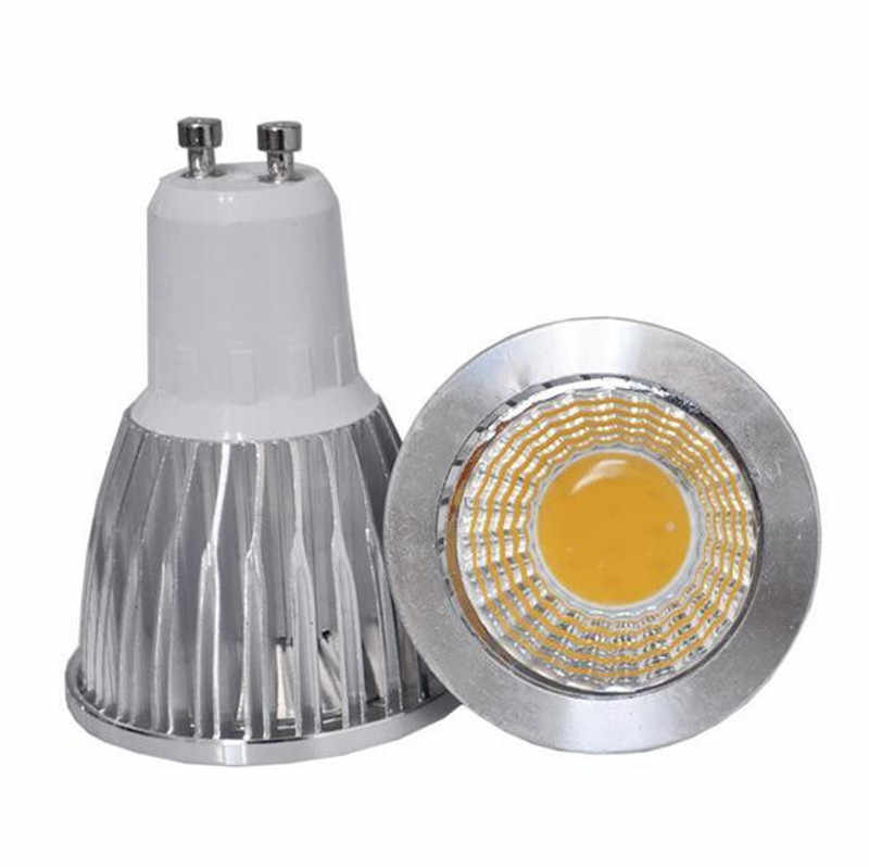 Super Bright GU 10 Bulbs Light Dimmable Led Warm/White 85-265V 7W 10W 15W GU10 COB LED lamp light GU 10 led Spotlight