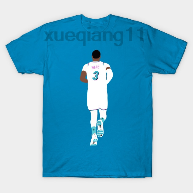 new style 35a77 88dcd US $11.99 |Dwyane Wade Miami Vice T Shirt-in T-Shirts from Men's Clothing  on Aliexpress.com | Alibaba Group