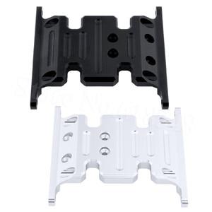 Металлический Алюминиевый центр противоскользящая пластина для осевого SCX10 Рок Гусеничный 1:10 RC автозапчасти Hop Up Замена