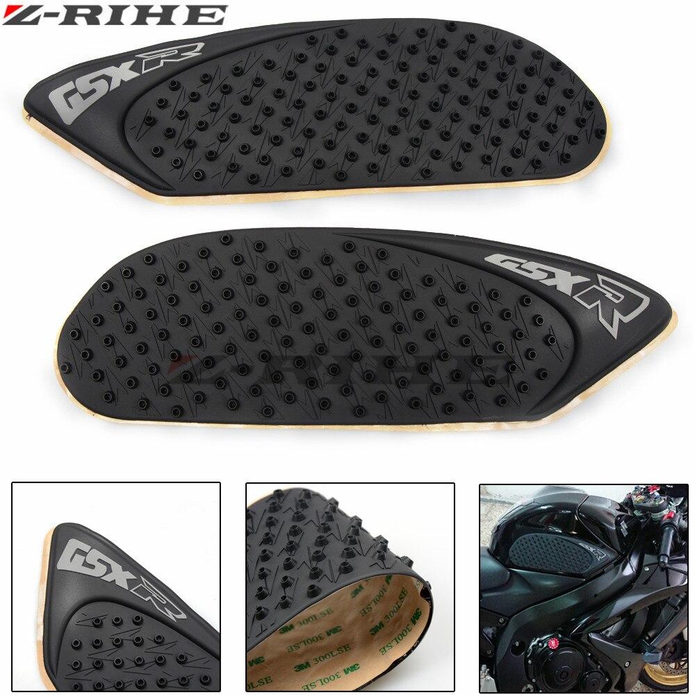 Motorcycle Accessories Carbon Fiber Tank Pad tank Protector Sticker for suzuki gsxr600 gsxr 600 gsxr750 gsxr 750 2006 2007