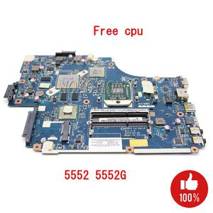 NOKOTION For Acer aspire 5551 5551G 5552 5552G Laptop Motherboard NEW75 LA-5911P MBPUU02001 Main board HD5650M 1GB Free CPU(China)