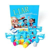 צעצועי חידוש צעצוע מצחיק משפחת משחק שקרן סט 2-4player, מצחיק האף האף & משקפיים למתוח את האמת לגדול חידוש התהילה צעצועים