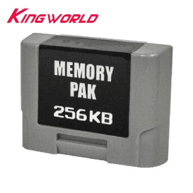 256KB Pacchetto di Espansione Scheda di Memoria per N 64 Controller Pacchetto di Espansione di Memoria
