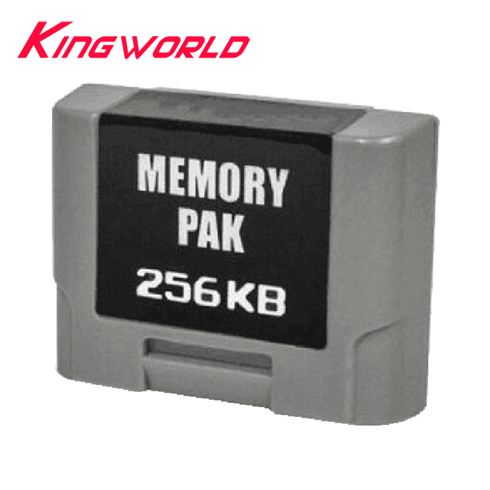 256KB Pack Expansion Memory Card For N-64 Controller Memory Expansion Pack