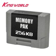 N 64 컨트롤러 메모리 확장 팩용 256kb 팩 확장 메모리 카드