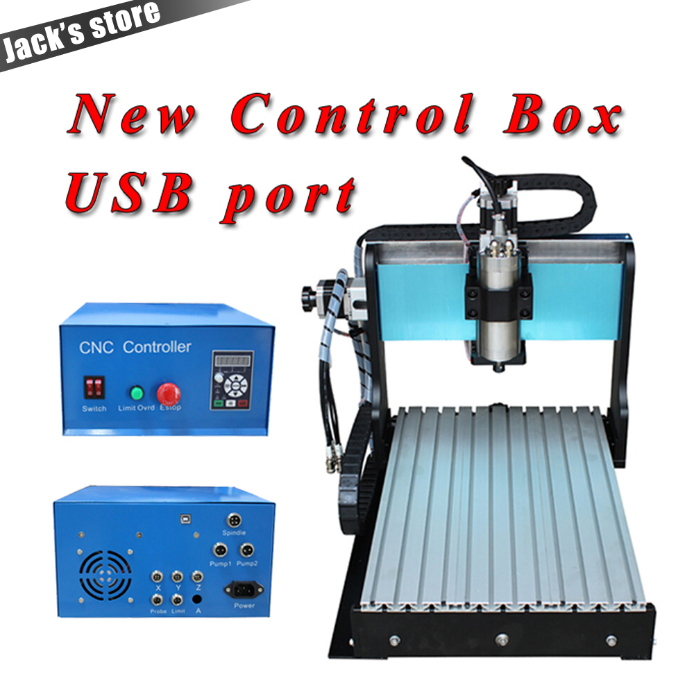 USB port !!! 3040Z SS++ , CNC3040 1500W Spindle + 2.2kw VFD CNC Router water cooling ,Metal engraving machine ,CNC 3040,3040