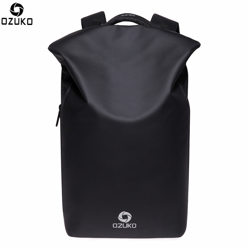 OZUKO 15Inch Laptop Backpack External USB Charge Computer Backpack for Men Anti-theft Waterproof Backpack Casual Bag Mochila anti theft oxford casual laptop backpack female and men backpack with usb charge waterproof travel bag computer bag bagpack 2018