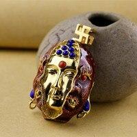 S925 bijoux en argent sterling rétro boutique hommes lapis lazuli pendentifs une idée de la pendentif