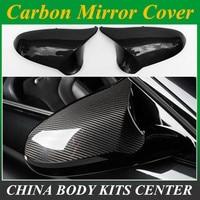 Real M3 M4 parte substituição side door mirror cover para BMW M3 M4 f80 f82 f83 2014 2015 2016