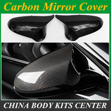 Real M3 M4 replacement part side door mirror cover for BMW M3 M4 f80 f82 f83 2014 2015 2016