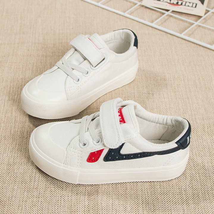 2018 Spring New Children Canvas Shoes For Girls Sneakers Fashion Kids Shoes Breathable Autumn Boys Sports Shoes