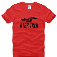 Star Trek Printed T Shirts Men Summer Style Short Sleeve O Neck Cotton Men S T