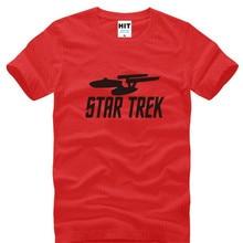 Star Trek Printed T Shirts Men Summer Style Short Sleeve O-Neck Cotton Men's T-Shirt Fashion Male Fans Top Tee Mens Clothing