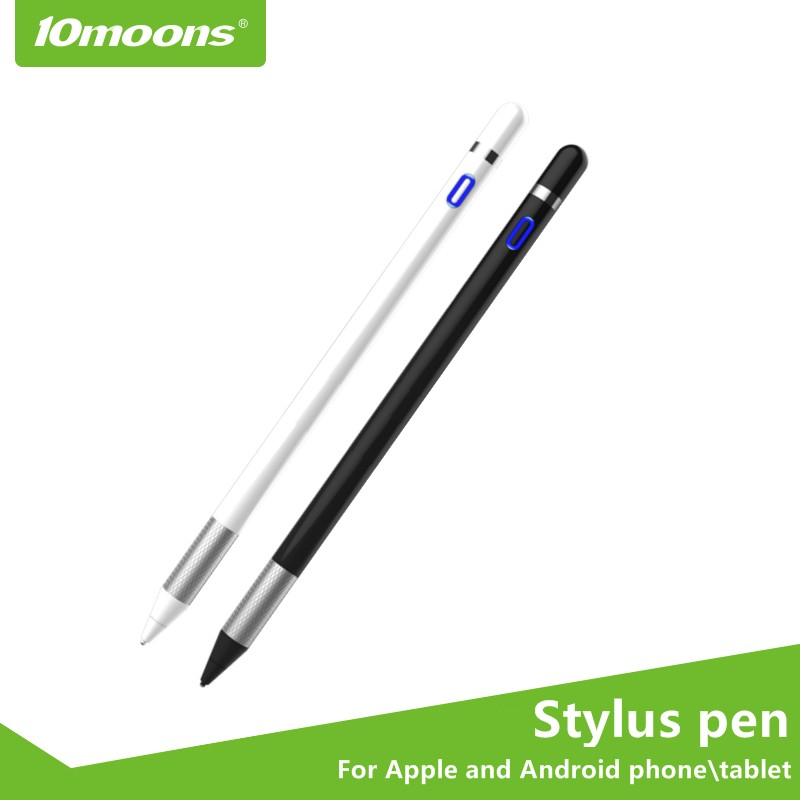10moons Stylus Pen For Android Phone Tablet Capacitive Pen For Apple IPad Painting Pen With Magnetic Cap