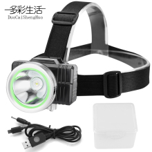 Led Headlamp Flashlight Forehead Headlight Lantern On The Head Torch Led Lamp Flash Light Lamp Frontal USB Charging Headlamps