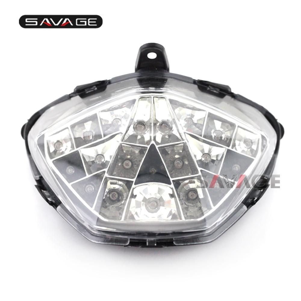 Integrated LED Tail Light INDICATORS Honda CBR250R 2011-12 13 2014 2015 Smoke+