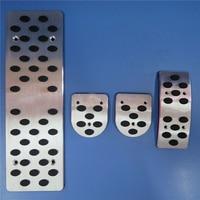 TTCR II Car Accessories For Audi A4 B6 B7 B8 A5 A6 C5 C6 A7 A8 Q5 A3 Q3 TT MT Gas Brake Clutch Footrest Pedals Pad Stickers