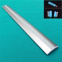 5 30 pz/lotto 40 pollici 1 m gabinetto di led light bar, 12mm bordo largo led profilo in alluminio opaco trasparente della copertura, il profilo del soffitto