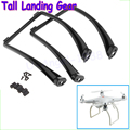 Wholesale Tall Landing Gear for DJI Phantom 1 2 Vision Wide and High Ground Clearance Black/White Dropship