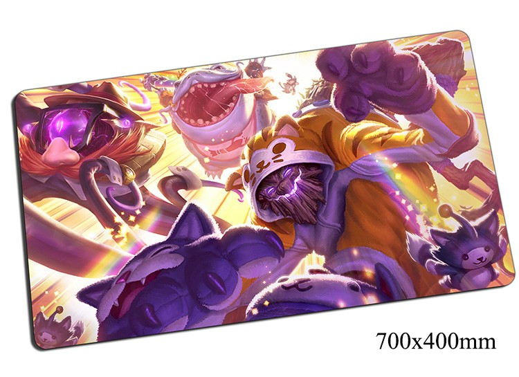 Maokai mouse pad 700x400x2mm gaming mousepad gear lol gamer mouse mat pad Twisted Treant game computer new mouse play mats