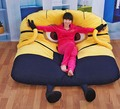 Little yellow person,Furniture,Tatami, lazy beds, mattresses lazy creative 200*130cm Super soft ,floor chair ,cadeira ,taburete