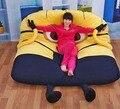 Personita amarillo, Muebles, Tatami, perezoso camas, colchones perezoso creativo 200*130 cm Super suave, silla baja, cadeira, taburete