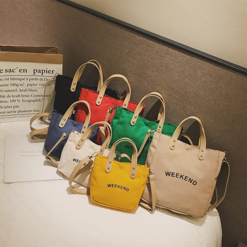 Casual กระเป๋าเด็กผู้หญิงผ้าใบ Totes Mini น่ารักสาวกระเป๋าถือไหล่กระเป๋าขนาดเล็ก-ใน กระเป๋าสะพายข้าง จาก สัมภาระและกระเป๋า บน AliExpress - 11.11_สิบเอ็ด สิบเอ็ดวันคนโสด 1