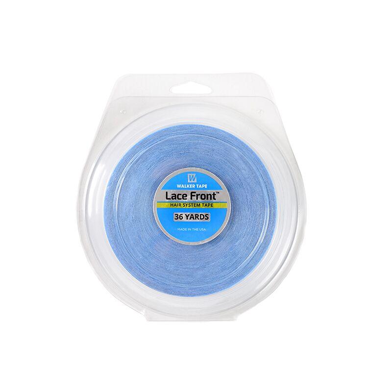36 jardas frente do laço suporte azul dupla face fita para a extensão do cabelo/peruca/laço peruca/extensão do plutônio fita do sistema de cabelo