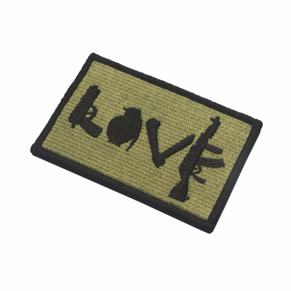 U.S Army Star Lot Rectangle Embroidery Flag Tactical Patch Badge Strap Applique Armbands New