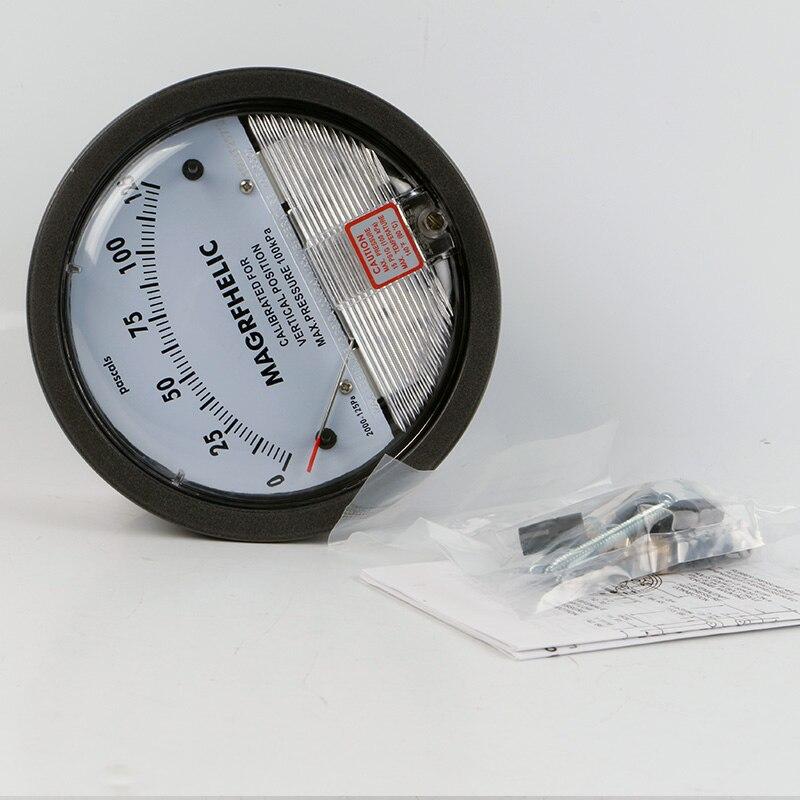 TE2000 0-150pa Micro Differential Pressure Gauge 4- 3/4
