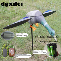 Dc 6V Plastic Motorized Hunting Decoys Hunting Duck With Spinning Wings
