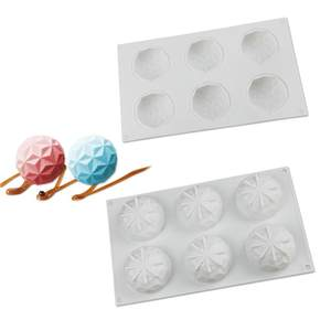 3D Silicone Tools Mould Cake-Mold Decorating-Accessories Baking Oven DIY 6-Link 1pcs