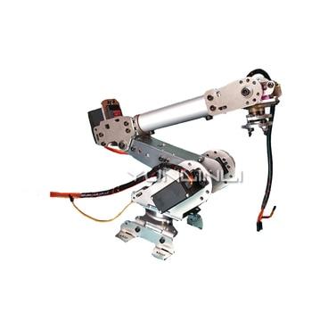 New Robotic Arm 6 Degree Of Freedom Manipulator Abb Industrial Robotic Model Six Axis Robot 2 ABB1 industrial robot 3d rotate mechanical arm alloy manipulator 6 dof robot arm rack with 996 servos 1 alloy gripper controller