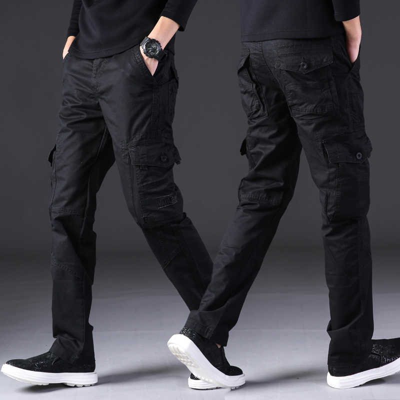 Taktik Pantolon Erkek Ordu Kargo Joggers Sweatpants Streetwear Pantalones Hombre Iş Elbiseleri Parkour Askeri Pantolon Pantolon