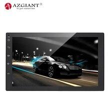 AZGIANT 7-дюймовый HD Bluetooth ручной звонок бесплатный автомобиля android-автомобильный mp5 плеер gps навигации FM радио для сзади вид Камера удаленного Управление