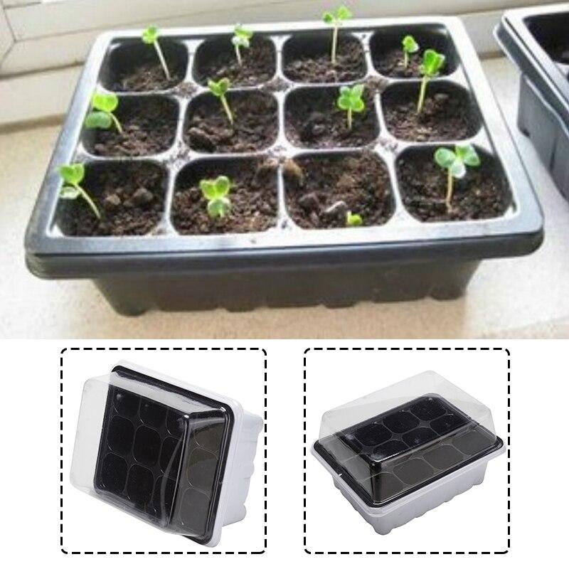 2019 New High Quality Plastic Plant Pot Box Nursery Container Plastic Planter Plants Tray Plantpots Gardening Supplies