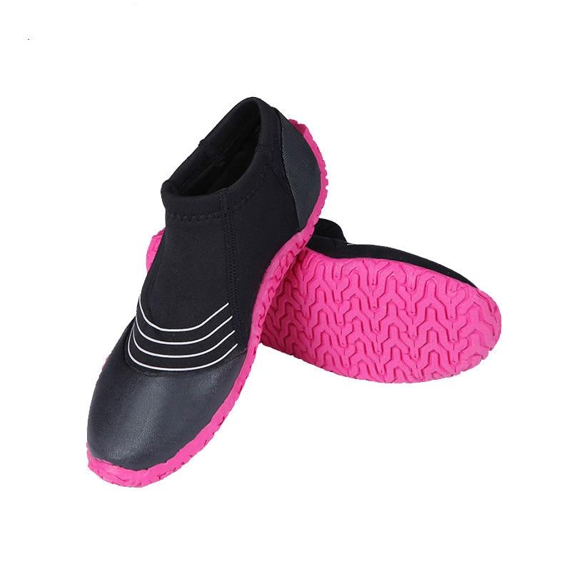 53215cea259f Zapatos de buceo de neopreno de 3mm antideslizantes zapatos de agua de  playa antiarañazos zapatos de invierno aletas de natación aqua calcetines  ...
