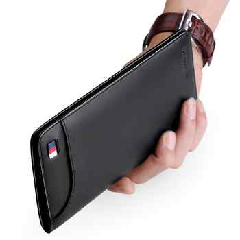WilliamPOLO wallet mens long leather wallet Slim Clutch Bag luxury Men Wallet Genuine Leather mens wallet leather clutch bag men - DISCOUNT ITEM  49% OFF All Category