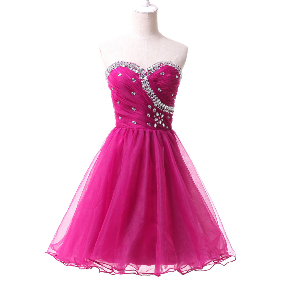 Young Girl Above Knee Black Pink Blue Semi Formal Homecoming Dresses Sexy  Mini Prom Dress Cocktail Party Gown Lace up ZHP015-in Homecoming Dresses  from ... 0e240e9df