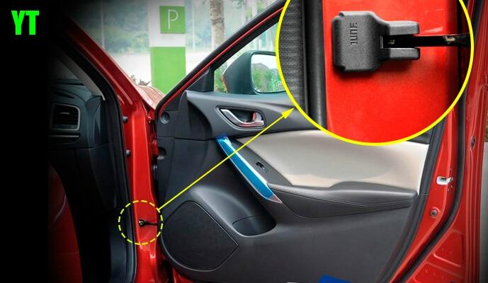 Auto durvju pārbaudes aizsargā vāku, ūdens necaurlaidīgo - Auto salona piederumi