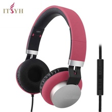 Laptop game headphone with microphone wired bass headset Matte color Stereo earphones 2017 new foldable headband gift TW-760