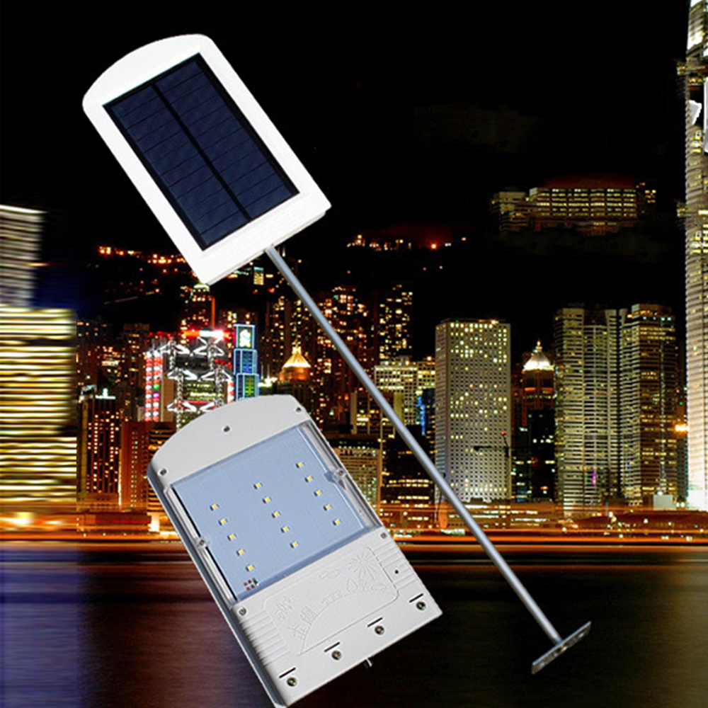 ФОТО super bright LED solar wall lamp street light light control waterproof outdoor courtyard garden exterior lamps solaire IP67