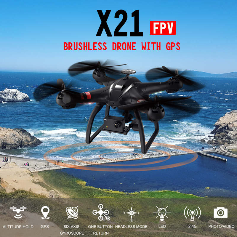 BAYANGTOYS X21 Double GPS Brushless Motor RC Quadcopter 2 4G 6Axis Gyro RC Drone With WIFI