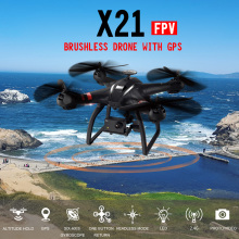 BAYANGTOYS X21 Double GPS Brushless Motor RC Quadcopter 2.4G 6Axis Gyro RC Drone With WIFI 1080P Camera FPV RC Helicopter