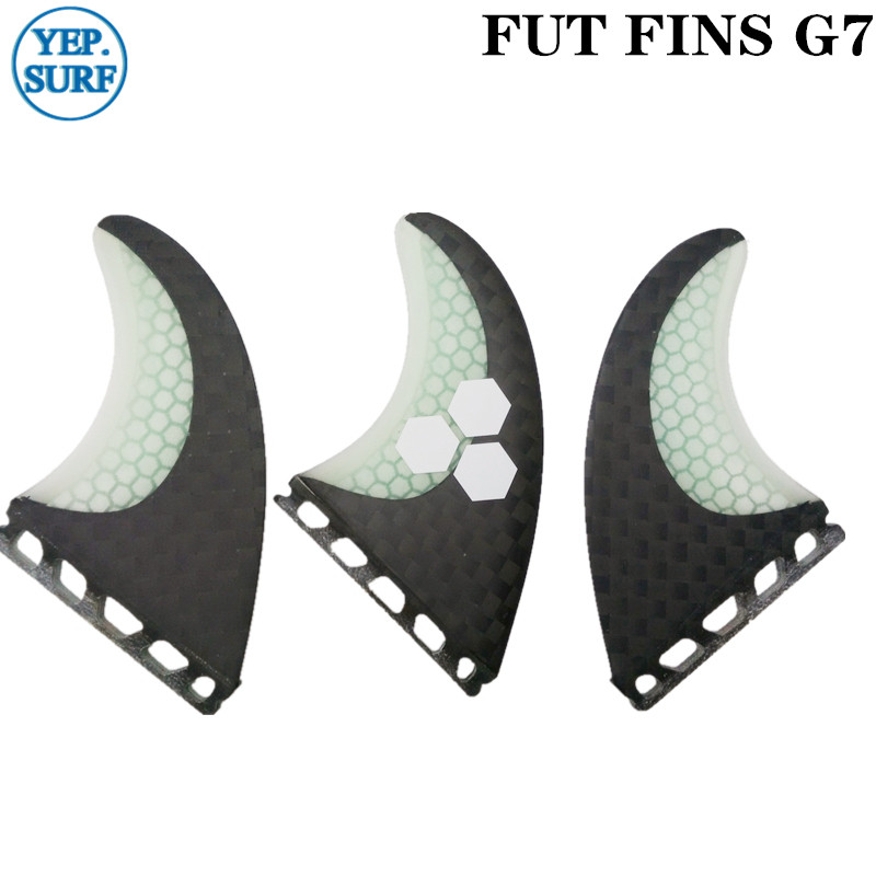 Surfboard Fins Future G7 Fin Honeycomb Surfboard Fin Black And White Color With Logo Surfing Fin